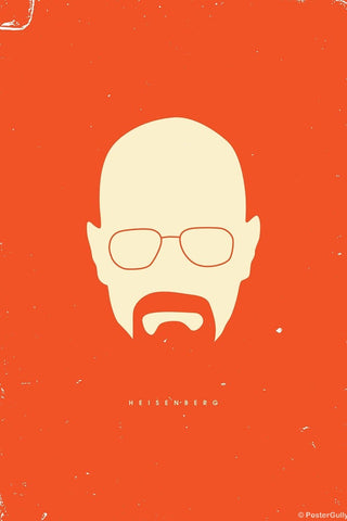 Wall Art, Breaking Bad Orange, - PosterGully