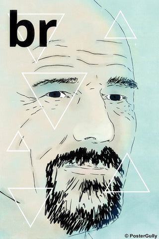 Wall Art, Breaking Bad Triangle, - PosterGully