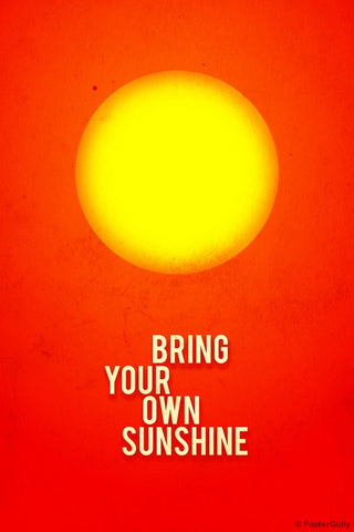 Wall Art, Bring Your Own Sunshine, - PosterGully