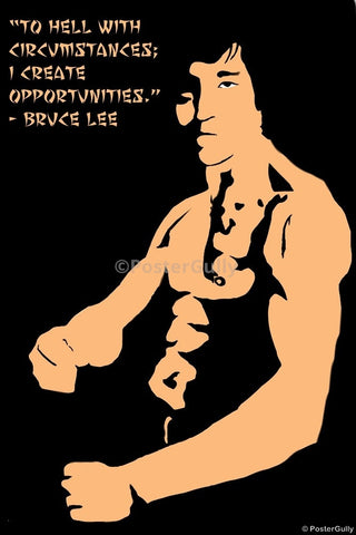 PosterGully Specials, Bruce Lee by Shome, - PosterGully