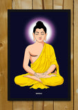 Glass Framed Posters, Buddha Halo Glass Framed Poster, - PosterGully - 1