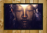Glass Framed Posters, Buddha Painting Glass Framed Poster, - PosterGully - 1