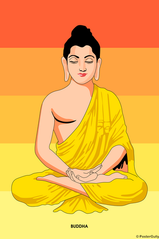 Wall Art, Buddha Trance, - PosterGully