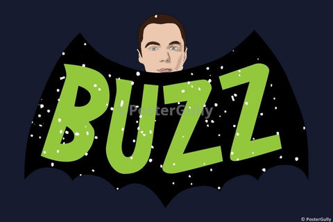Wall Art, Buzz Sheldon Cooper Humour, - PosterGully