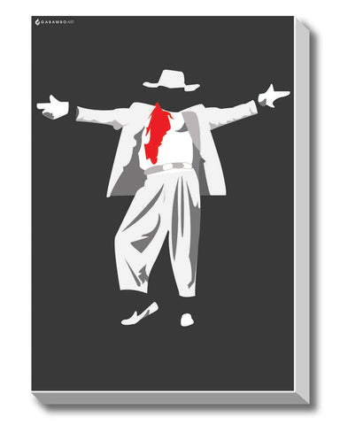 Canvas Art Prints, Dance Movies - Prabhu Deva Stretched Canvas Print, - PosterGully - 1