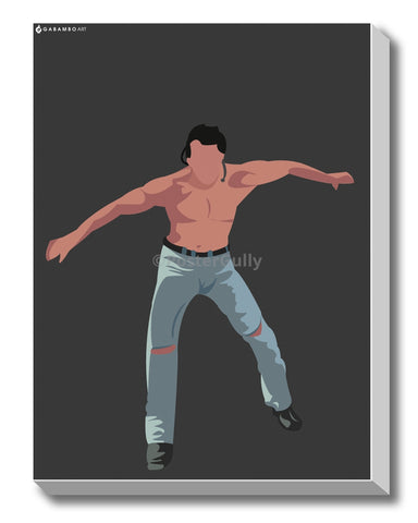 Canvas Art Prints, Dance Moves - Salman Khan Stretched Canvas Print, - PosterGully - 1