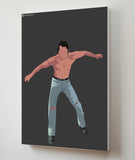 Canvas Art Prints, Dance Moves - Salman Khan Stretched Canvas Print, - PosterGully - 3