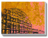 Canvas Art Prints, Colours or Jaipur Stretched Canvas Print, - PosterGully - 1
