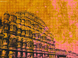 Canvas Art Prints, Colours or Jaipur Stretched Canvas Print, - PosterGully - 4