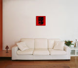 Canvas Art Prints, Vintage Camera - Red Stretched Canvas Print, - PosterGully - 4