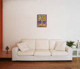 Canvas Art Prints, Dazed & Confused Stretched Canvas Print, - PosterGully - 4