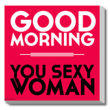 Canvas Art Prints, Sexy woman Stretched Canvas Print, - PosterGully - 1