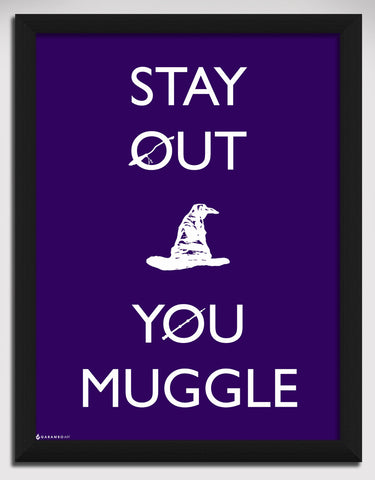 Canvas Art Prints, Harry Potter Framed Canvas Print, - PosterGully - 1