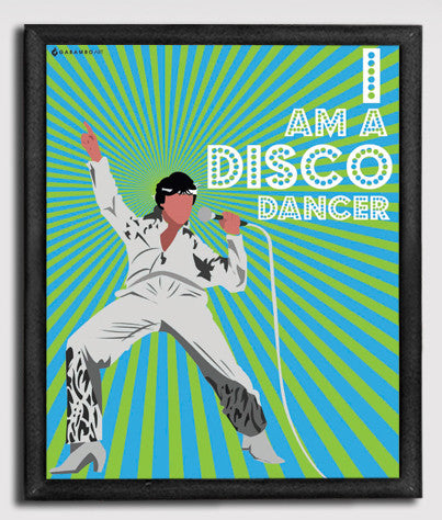 Canvas Art Prints, Bollywood Disco 2.0 Framed Canvas Print, - PosterGully - 1