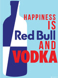 Canvas Art Prints, Happiness - Vodka Framed Canvas Print, - PosterGully - 3