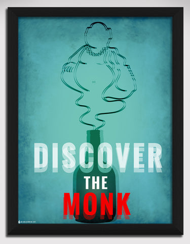 Canvas Art Prints, Discover the Monk  Framed Canvas Print, - PosterGully - 1