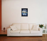 Canvas Art Prints, There was nothing here before Framed Canvas Print, - PosterGully - 5
