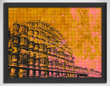 Canvas Art Prints, Colours or Jaipur Framed Canvas Print, - PosterGully - 1