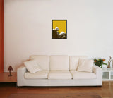 Canvas Art Prints, Jaipur Mosiac Framed Canvas Print, - PosterGully - 4