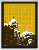 Canvas Art Prints, Jaipur Mosiac Framed Canvas Print, - PosterGully - 1