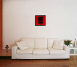 Canvas Art Prints, Vintage Camera - Red Framed Canvas Print, - PosterGully - 4