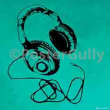Canvas Art Prints, Headphones - Pop Art Framed Canvas Print, - PosterGully - 3