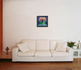 Canvas Art Prints, Doors of Preception Framed Canvas Print, - PosterGully - 3