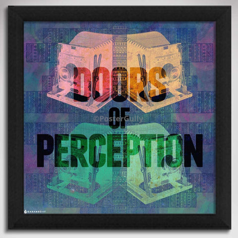 Canvas Art Prints, Doors of Preception Framed Canvas Print, - PosterGully - 1