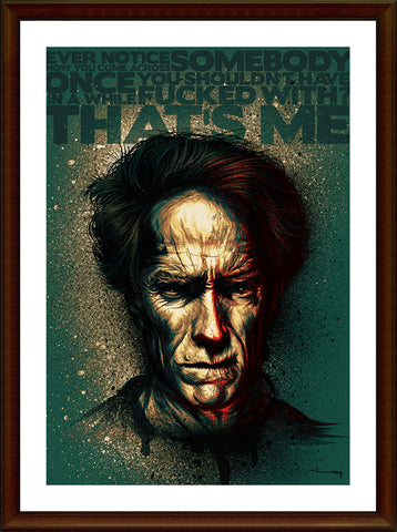 Biz Gyaan, Clint Eastwood Artwork, - PosterGully
