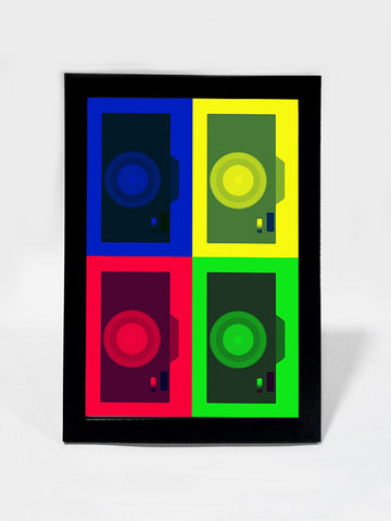 Framed Art, Camera Pop Art | Framed Art, - PosterGully
