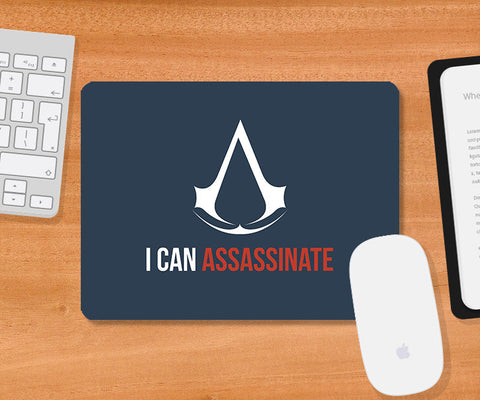 Mousepads, Can Assassinate Mousepad | Artist: Rohit Malhotra, - PosterGully