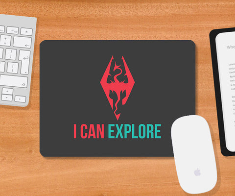 Mousepads, Can Explore Mousepad | Artist: Rohit Malhotra, - PosterGully