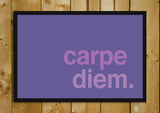 Glass Framed Posters, Carpe Diem. Seize The Day Glass Framed Poster, - PosterGully - 1