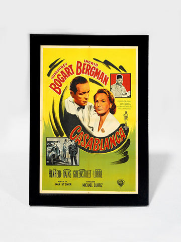 Framed Art, Casablanca Bogart & Bergman | Framed Art, - PosterGully