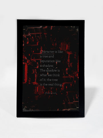 Framed Art, Character Abraham Lincoln | Framed Art, - PosterGully