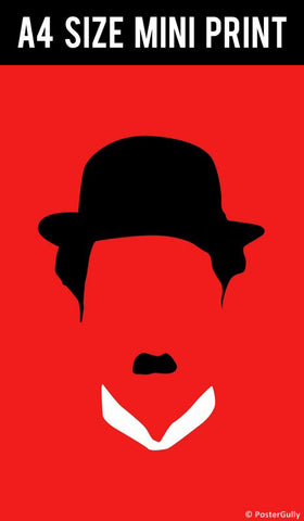 Mini Prints, Charlie Chaplin  | Mini Print, - PosterGully