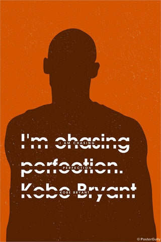 Wall Art, Chasing Perfection | Kobe Bryant, - PosterGully