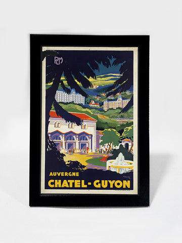 Framed Art, Chatel Guyon | Framed Art, - PosterGully