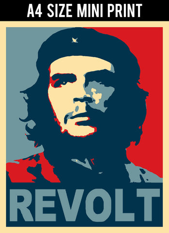 Mini Prints, Che Guevara | Revolt | Mini Print, - PosterGully