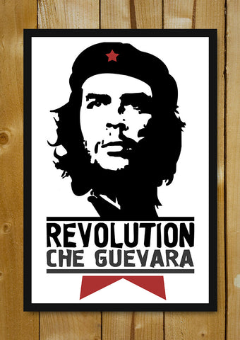 Glass Framed Posters, Che Guevara The Rebel Portrait Glass Framed Poster, - PosterGully - 1