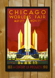 Glass Framed Posters, Chicago World's Fair Glass Framed Poster, - PosterGully - 1