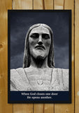 Glass Framed Posters, Christ Door Glass Framed Poster, - PosterGully - 1