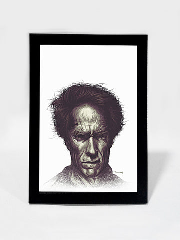 Framed Art, Clint Eastwood Matte Raj Khatri | Framed Art, - PosterGully