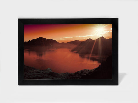 Framed Art, Clouds And Mountains | Framed Art, - PosterGully