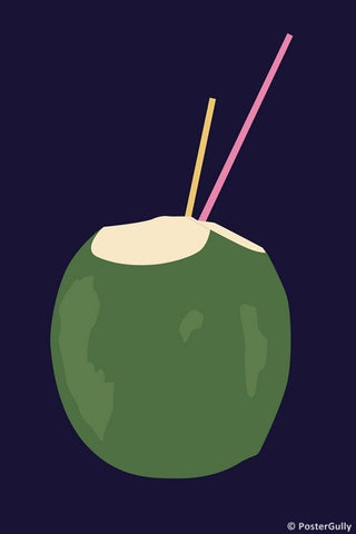 Wall Art, Coconut Water, - PosterGully