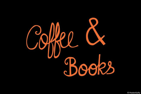 Wall Art, Coffee And Books, - PosterGully