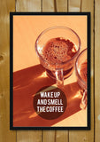 Glass Framed Posters, Coffee Morning Glass Framed Poster, - PosterGully - 1
