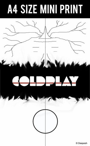 Mini Prints, Coldplay Album Minimal Artwork | Mini Print, - PosterGully