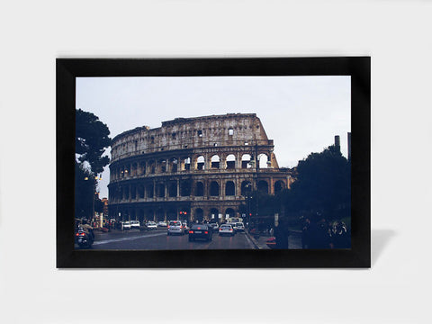 Framed Art, Colosseum Rome Blue | Framed Art, - PosterGully