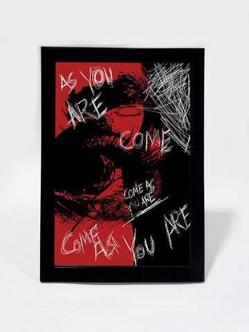 Framed Art, Come As You Are Nirvana Grunge | Framed Art, - PosterGully